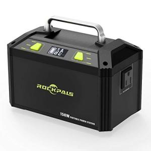 Rockpals ポータブル電源 大容量 K27 48000mAh/178Wh 小型発電機 家庭用蓄...