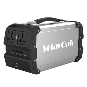 SolarOakポータブル電源小型発電機家庭用蓄電池 三つの充電方法AC/DC/USB出力防災グッズ...
