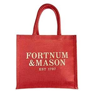 Fortnum & Mason(フォートナム & メイソン) ジュートトートエコバッグ スモール 並行輸入品|shop-frontier