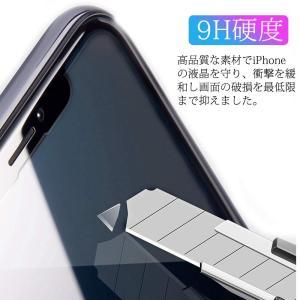 iPhone XS ガラスフィルム,ABBOBI強化版透過率99.9% 硬度9H 飛散防止 高級感 耐衝撃 指紋防止 iPhone XS ガ|shop-frontier