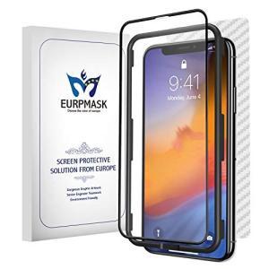EURPMASK iPhone XR アンチグレアガラスフィルム「ゲーム好きにぴったりする手触り感」...