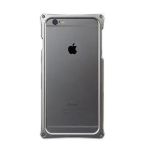 ABEE アビー iPhone6対応 硬質アルミバンパーケース アルミジャケット(タイプ6X01B) シルバー AJ-6X01B-S shop-frontier