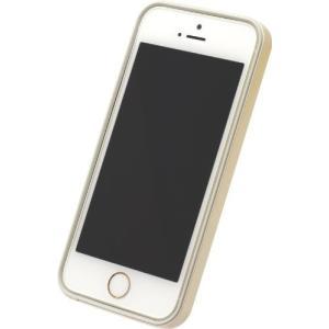 POWER SUPPORT パワーサポート フラットバンパーセット for iPhone5s/5 ゴールドPJK-46 shop-frontier