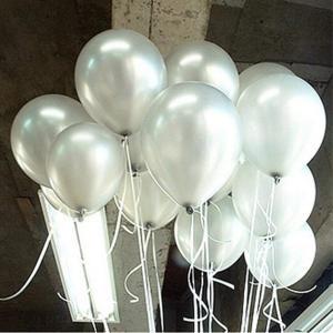 GuassLee 12インチ白の風船 ラテックス風船 バルーン パーティー お誕生日会 結婚式 飾り付け|shop-frontier