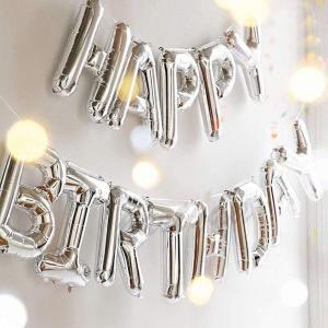 誕生日 飾り付け 風船、Happy Birthday バルーン、パーティー 装飾 風船、バースデー 飾り バルーン HB7S|shop-frontier