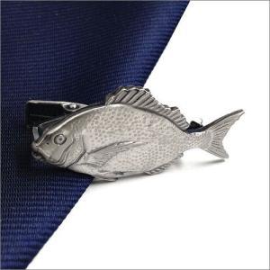 ISHOKUYA(衣飾屋) 釣り人シリーズ ユニーク 魚 タイピン タイ止め タイバー 真鯛 マダイ