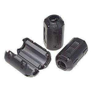 KAUMO フェライトコア φ9mm 10個パック 耐高温 耐腐食 耐摩耗性 ノイズフィルター ノイ...