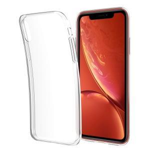 Timote最新 iPhone XR 専用 ソフトケース 全面プレミアムクリア 超薄型 超軽量 耐衝撃 衝撃吸収 TPUで、iPhone丸ご|shop-frontier