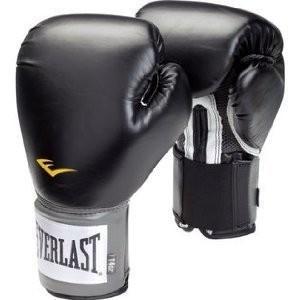Everlast(エバーラスト)プロスタイル練習用ボクシンググローブ16ozブラック