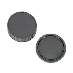 Leica Mマウント ボディキャップ レンズリアキャップ セット