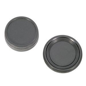 Nikon Fマウント ボディキャップ レンズリアキャップ セット