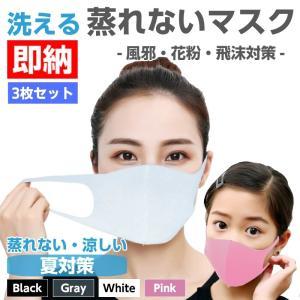 \全品200円OFFクーポン配布/3枚セット 蒸れないマスク 洗えるマスク 冬用マスク ピッタ ウレ...
