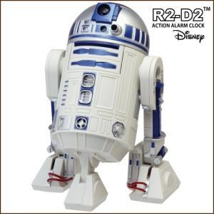 RHYTHM(リズム) STARWARS スターウォーズ R2-D2 目覚し時計 R2D2 アクション・アラーム・クロック 8ZDA21BZ03