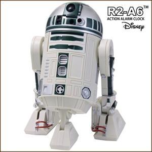 RHYTHM(リズム) STARWARS スターウォーズ R2-A6 目覚し時計 R2A6 アクション・アラーム・クロック 8ZDA21BZ05