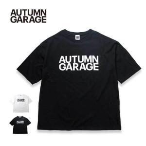 オータムガレージ Tシャツ 半袖 メンズ レディース AUTUMN GARAGE Tシャツ STD LOGO TEE 半袖Tシャツ メール便 [200825] shop-hood