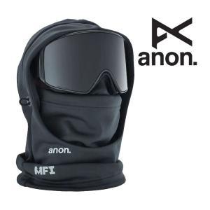 アノン バラクラバ ANON M MFI HOOD CLAVA (BLK) フェイスマスク スノーボード スノボ スキー [1001]|shop-hood