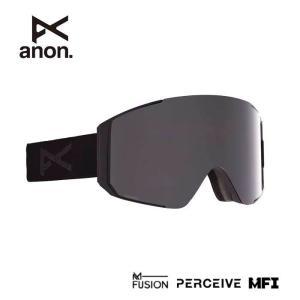 アノン ゴーグル スノーボード ANON ASIAN FIT SYNC SMOKE/PRCV SUN ONYX MFI 215081 スノーゴーグル スキー goggle [200929]|shop-hood