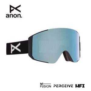 アノン ゴーグル スノーボード ANON ASIAN FIT SYNC BLACK/PRCV VRBL BLUE MFI 215081 スノーゴーグル スキー goggle [200929]|shop-hood