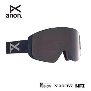 アノン ゴーグル スノーボード ANON ASIAN FIT SYNC BLUE/PRCV SUN ONYX MFI 215081 スノーゴーグル スキー goggle [200929]|shop-hood