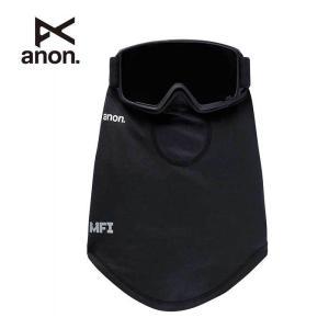アノンフェイスマスク ネックウォーマー ANON M MFI MD NCKWARMR BLK 152561 MFI Midweight Neck Warmer スキー スノーボード [メール便] [201002]|shop-hood