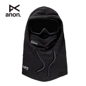 アノン バラクラバ フェイスマスク ANON M MFI XL HD CLAVA BLK 172451 Fleece Helmet Hood スキー スノーボード 黒  [メール便] [201002]|shop-hood