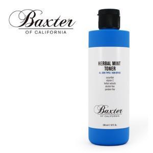 バクスター メンズ 化粧水 スキンケア ハーバルミントトナー 洗顔後のお手入れに 基礎化粧水 洗顔 HERBAL MINT TONER BAXTER OF CALIFORNIA MADE IN USA|shop-hood