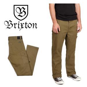 【5%還元】BRIXTON パンツ ブリクストン Brixton FLEET RIGID PANTS RIGID CARP ワークパンツ アパレル pant|shop-hood