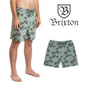【5%還元】ブリクストン サーフパンツ ボードショーツ 水着 BRIXTON HAVANA TRUNK ショートパンツ ハーフパンツ 短パン [メール便]0510|shop-hood