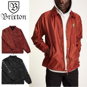 【5%還元】ブリクストン コーチジャケット アウター BRIXTON PRIMO JKT ジャケット ジャンパー ウインドブレーカー [0805]|shop-hood
