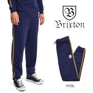【5%還元】ブリクストン スウェットパンツ ジャージ BRIXTON [ UNITED SWEATPANT ] PATRIOT BLUE [0304]|shop-hood