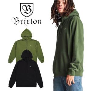 【5%還元】ブリクストン パーカー フーディ トップス BRIXTON [ B-SHIELD INTL HOOD ]プルオーバー 裏起毛  [0304]|shop-hood