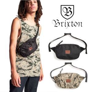 【5%還元】ブリクストン ウエストバッグ BRIXTON [ STEWART HIP PACK ] ヒップバッグ ショルダー バッグ カバン [0304]|shop-hood