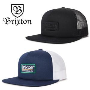 【5%還元】ブリクストン メッシュキャップ メンズ PALMER MESH CAP 帽子 BRIXTON キャップ 黒 ネイビー 紺 [0601]|shop-hood