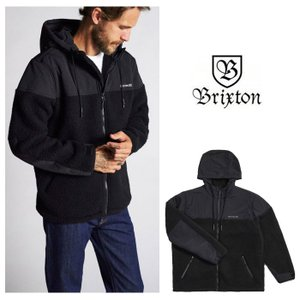 【5%還元】ブリクストン フリースジャケット メンズ BRIXTON OLYMPUS AT JKT アウター フーディ フリース アウター [0820]|shop-hood