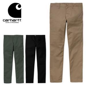 【5%還元】カーハート チノパン パンツ Carhartt WIP SID PANT シドパンツ ズボン 細身 [0215]|shop-hood