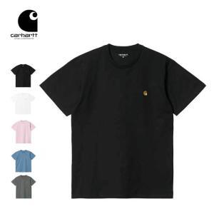カーハート Tシャツ 半袖 Carhartt WIP S/S CHASE T-SHIRT 半袖Tシャツ トップス 黒 灰 白 紺 メール便  [0215]|shop-hood