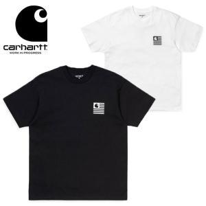 カーハート Tシャツ 半袖 Carhartt WIP S/S STATE PATCH T026409 半袖Tシャツ ワークインプログレス メール便 [0402]|shop-hood