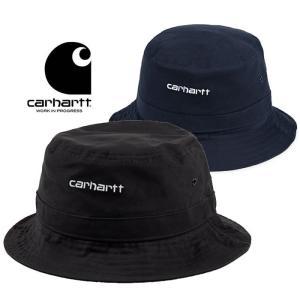 カーハート ハット 帽子 Carhartt WIP SCRIPT BUCKET HAT T026217 ワークインプログレス  [0402]|shop-hood