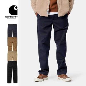 カーハート ワークパンツ ズボン メンズ Carhartt WIP MASTER PANT T020074 ツイル ワークインプログレス パンツ 黒 茶  [0801]|shop-hood