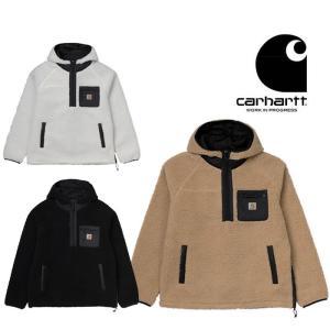 カーハート フリースジャケット アウター プルオーバー Carhartt WIP [ I027123-19F ] PRENTIS PULLOVER ワークインプログレス [1210] shop-hood