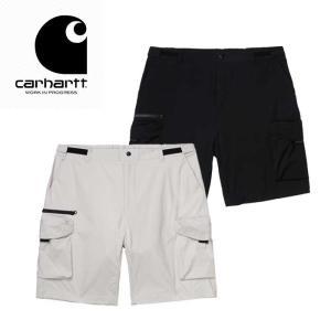 カーハート ショートパンツ メンズ Carhartt WIP HAYES SHORT I027599 ショーツ 黒 白 [0410]|shop-hood