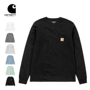 カーハート WIP ロンT 長袖 Tシャツ Carhartt WIP L/S POCKET T-SHIRT I022094 D.GRY.H 長袖Tシャツ トップス ワークインプログレス [200925] shop-hood