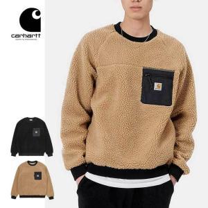 カーハート WIP フリースジャケット メンズ クルーネック Carhartt WIP PRENTIS SWEATSHIRT I028131 スウェット ワークインプログレス [201120] shop-hood