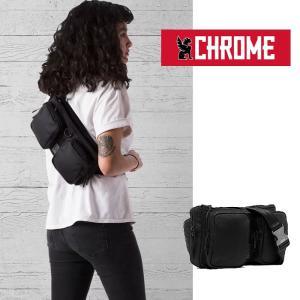 【5%還元】クローム スリングバッグ CHROME BG239 MXD NOTCH ALL BLK バリスティックナイロン スリングバッグ ウェストバッグ ショルダーバッグ カバン 0510|shop-hood