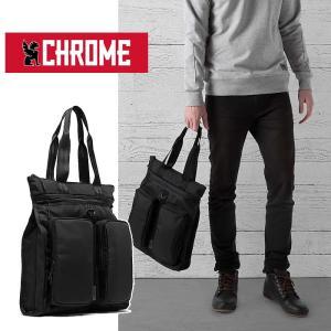 【5%還元】クローム トートバッグ CHROME BG242 MXD PACE ALL BLK バリスティックナイロン バックパック リュック カバン 0510|shop-hood