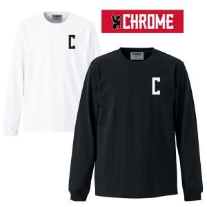 【5%還元】Chrome クローム ロンT 長袖  スウェット トレーナー [ JP085 ] SUPER HEAVY WEIGHT LONG TEE Tシャツ [0115]|shop-hood