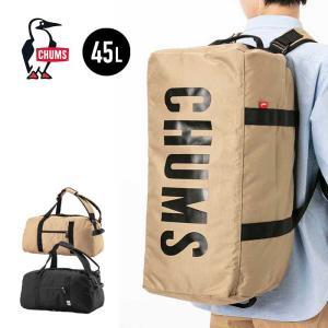 【5%還元】チャムス ボストンバッグ 旅行カバン CHUMS CH60-2469 ECO CHUMS 2WAY BOSTON バッグ カバン ロゴ 0305|shop-hood