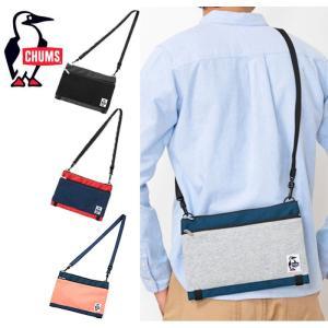 【5%還元】チャムス ショルダーバッグ カバン Chums [ CH60-2682 ] Two Necked Shoulder S/N ツーネックドショルダー 鞄  [0115]|shop-hood