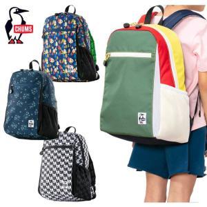 【5%還元】チャムス キッズ リュック カバン Chums CH60-2534 Kid's Eco Day Pack  デイパック バッグ 子供 [0402]|shop-hood