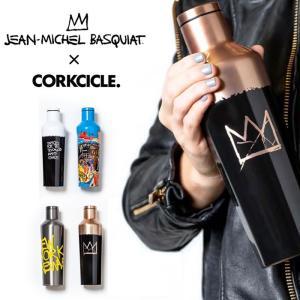 バスキア × コークシクル コラボ ボトル BSQ2016 CANTEEN 16oz(470ml) BASQUIAT×CORKCICLE キャンティーン 水筒 0801|shop-hood